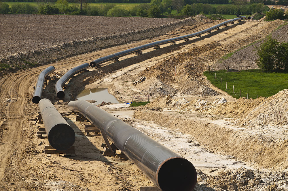 oil and gas pipeline construction