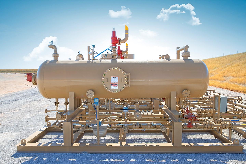 wellhead facilities. Oil and Gas