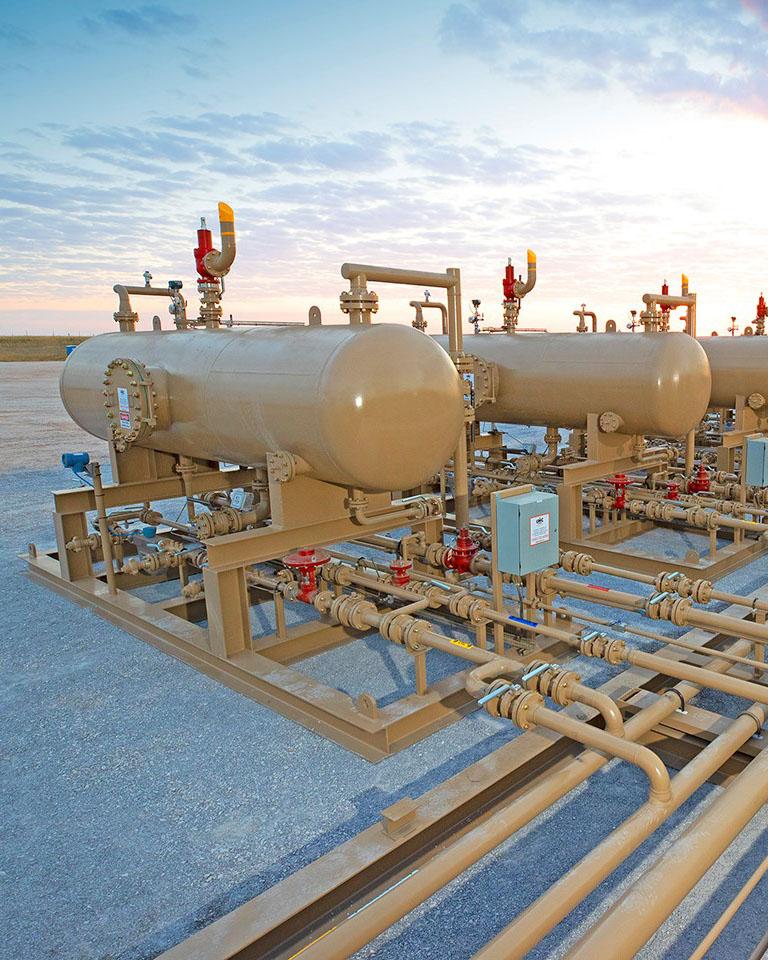 oil and gas wellhead facilities